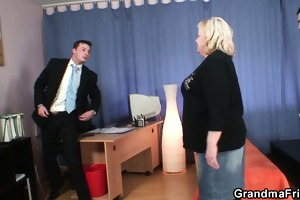 granny double irrumation and fuck