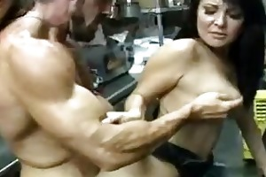 hot black haired d like to fuck acquires her bald