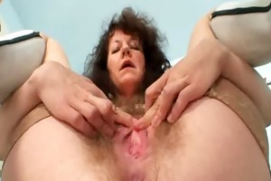 older dilettante mamma extremly unshaved cunt