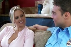 julia ann receives interviewed by rocco reed,