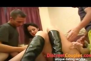 bizarre swingers sex party