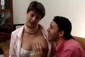 shaggy french granny...f70 older aged porn granny