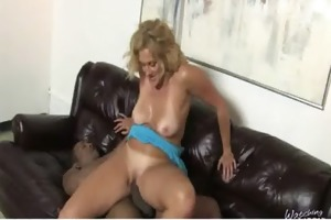 darksome cock stuffed in my mamas slit 5