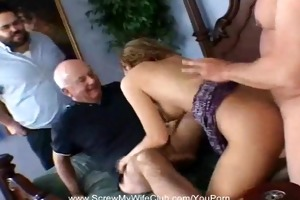swinger creampie for milf housewife