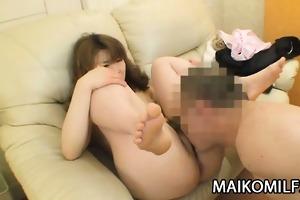 japan mother i kyoko nakano enjoys getting her