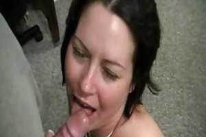 aged mamma receives facial