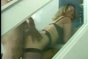 big beautiful woman floozy mamma in nylons