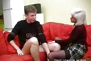 granny with saggy scoops receives screwed part1