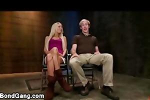 loan sharks fuck rope thraldom breasty blond wife