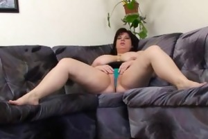 older big beautiful woman with large melons