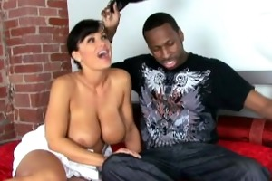 supermilf female-dom lisa ann doggie style fuck