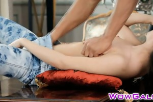 youthful momoko acquires gratified by a sexy guy
