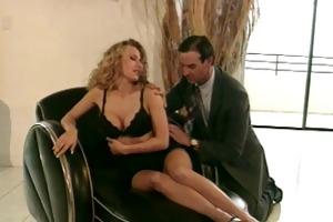 sexy blonde mother i in stilettos acquires drilled