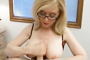 blond mommy in glasses licking subrigid part6