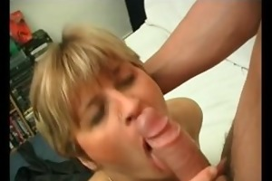 french mommy acquires anal drilled by a young