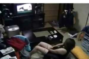 hidden livecam caught my mama masturbating in