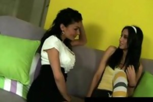 lesbo breasty dark brown mother i makes out with
