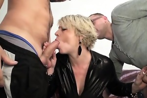 mature sophia anal drilled in front of her spouse