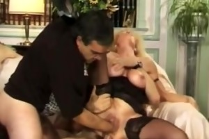 blond floozy fisted and screwed
