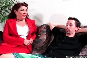 hot and wicked brunette hair mature doxy acquires