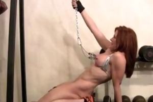 cat desade nipple workout