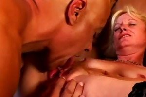 lustful aged golden-haired needs act