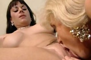 aged lesbian babes ding-dong fucking