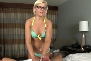 nude mother i with hot body jerks off her spouse