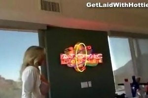 lustful bartender d like to fuck with astonishing