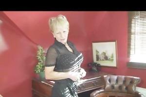 jane bond aged office wench