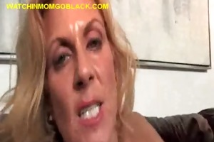 darksome chap ploughs blond mommy