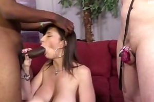 horny wife ball batter in snatch