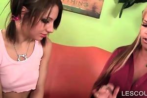 aged sex domina seducing legal age teenager lesbo