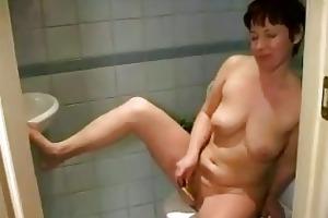 rehead breasty older masturbating bald pussy