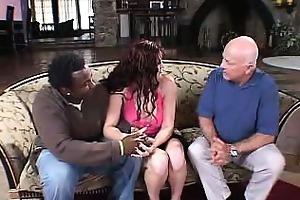 dark brown wife swallowing a pecker