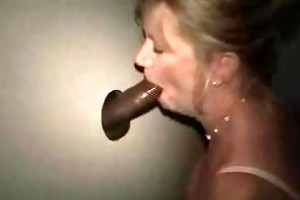 golden-haired aged in gloryhole
