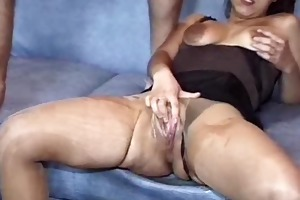 extraordinary fist fucked wench showered in make