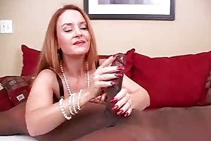 aged dilettante wife interracial cockold handjobs