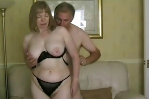 rate my milf - granny aged in stockings engulfing