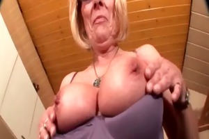 perverted older in glasses working her sexy love
