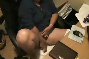 voyeur. mama masturbating at computer