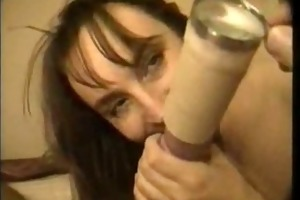 breasty craves to smack his cum