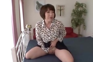 awesome threesome with a curly mommy