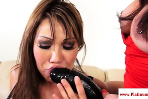 ava devine double permeated roughly with ding-dong