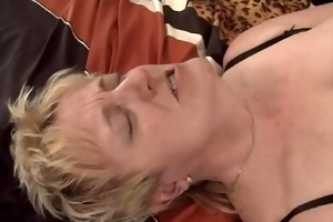 blond granny fisted and screwed
