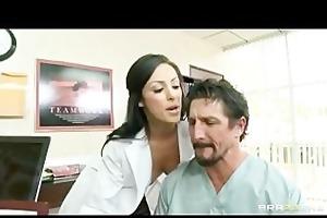 sexy dr. benson, a nympho dentist, bonks