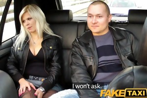 faketaxi large scoops blond copulates partner on