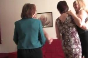 four lascivious older wife having sex part4