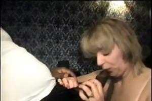 swinger wife eating the large darksome shlong -