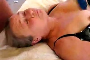great stolen movie of my old mommy having facial